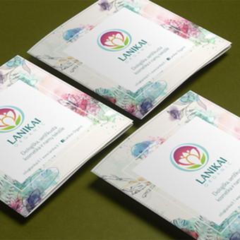 Ekologiškos kosmetikos ir namų tekstilės  e-shop dalomoji medžiaga. Skirta dalyvauti tarptautinėje parodoje.