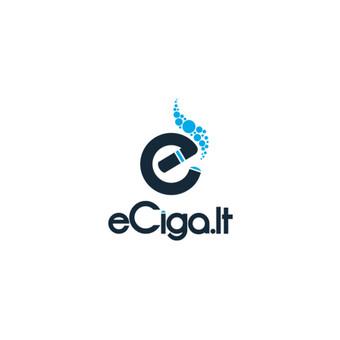 Eciga.lt Elektroninių cigarečių parduotuvės logotipas