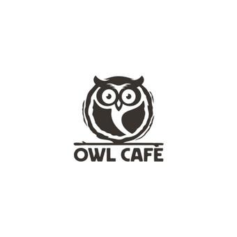 Owl Cafe - Naujos kavinės Molėtuose logotipas