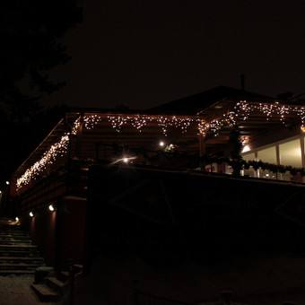 Kalėdinis LED apšvietimas