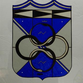 Vitražai, stiklo interjero detalės / Evelina Januškaitė / Darbų pavyzdys ID 47278