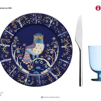 Reklaminis stalo patiesimas restoranams su iittala indais ir stalo įrankiais. V2. Užsakovas: Ginalas interjeras