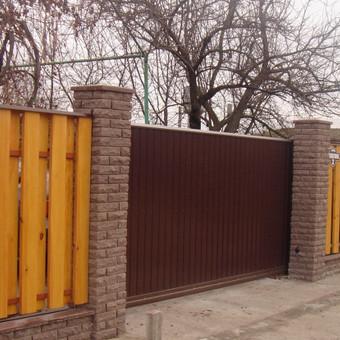 Automatiniai vartai, domofonai. / Miroslav / Darbų pavyzdys ID 49971