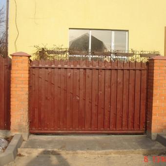 Automatiniai vartai, domofonai. / Miroslav / Darbų pavyzdys ID 49970