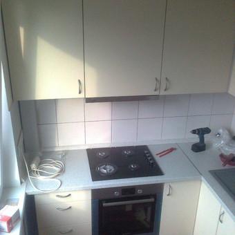 Virtuvės Baldų Gamyba / Virtuvės baldai / Darbų pavyzdys ID 50324