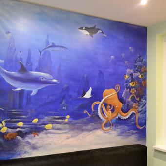 Interjero dekoravimas / Dekoratorė Laura / Darbų pavyzdys ID 50997