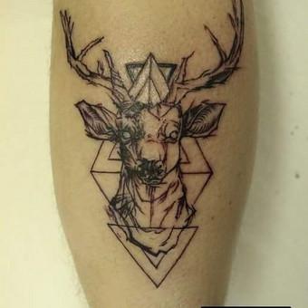 Tatuiruotės, tatuiruočių salonas / Ernesta / Darbų pavyzdys ID 53180