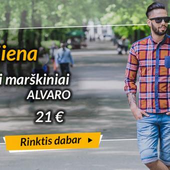 """Vyriški marškiniai """"Alvaro""""  www.rubaiplius.lt/drabuziai/vyriski-marskiniai-alvaro"""