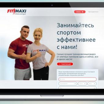 www.fitmaxi.ru   Užduotis - sukurti patogų ir patrauklų dizainą tinklapiui, švarų, lengvą stilių, vidinę sistemą prisijungus, logotipą. Įgyvendimui naudoti šviesūs lengvi atspalviai, š ...