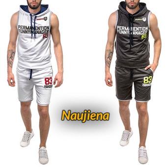 """Vasarinis sportinis kostiumas """"83""""  www.rubaiplius.lt/q/sportinis-kostiumas  Dailus, patogus, praktiškas, šortų ir marškinėlių be rankovių derinys, puikiai tiks vyrui mėgstančiam akt ..."""