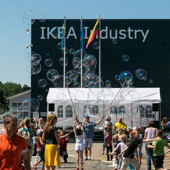 Surengta IKEA Industry Lietuva šventė miestiečiams