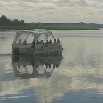 Plukdome plaustu Mascio ezere / Dainius / Darbų pavyzdys ID 60603