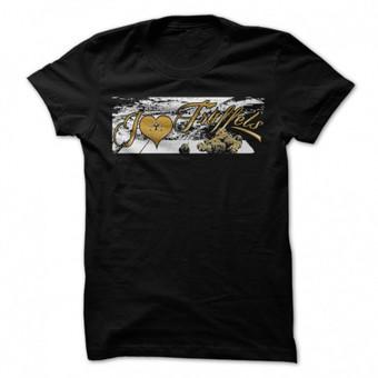 Marškinėliai, užsakovas Gold Istra, prekyba triufeliais, Slovėnija
