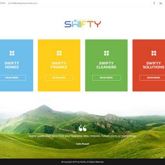 SWIFTY - Svetainių dizaino kūrimas, programavimas, pritaikymas, šablono adaptavimas TVS Drupal, magento.