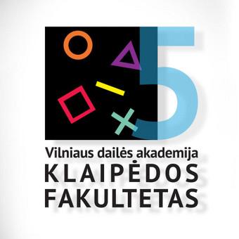 Logotipas -  Vilniaus dailės akademijai 5 .