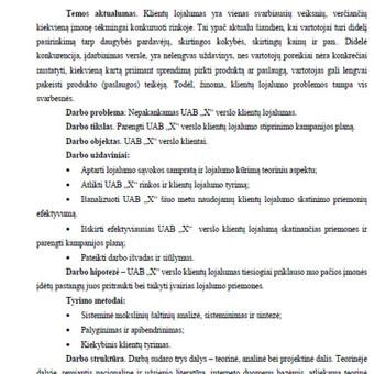 Konfidenciali pagalba ir konsultacijos, plagiato tikrinimas / Vorso.lt / Darbų pavyzdys ID 386283