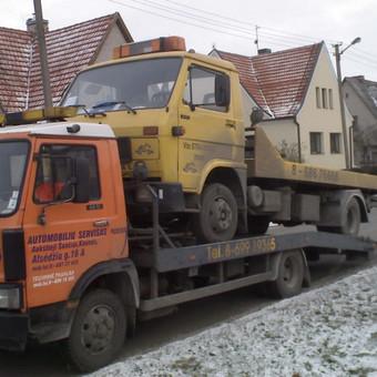 Techninė pagalba kelyje / Vytas / Darbų pavyzdys ID 61182