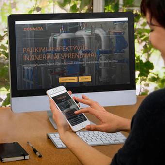 Internetinės svetainės ir elektroninės parduotuvės / Eimantas Dičius / Darbų pavyzdys ID 387401