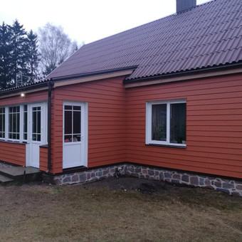 Stogų dengimas, stogdengiai, fasadai / Andrius / Darbų pavyzdys ID 388965