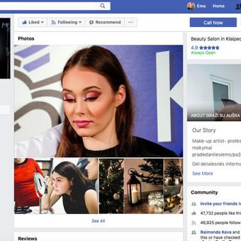 Socialinių tinklų administravimas / Ema Bilytė / Darbų pavyzdys ID 389567