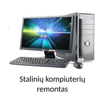 PC ir  Mac stalinių kompiuterių remontas.