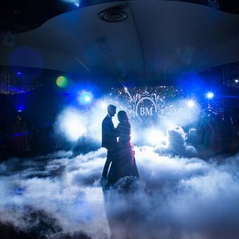 Žemas rūkas vestuvėms | Įspūdingas Jaunųjų pirmasis šokis / ZemasRukas.Lt / Darbų pavyzdys ID 391333