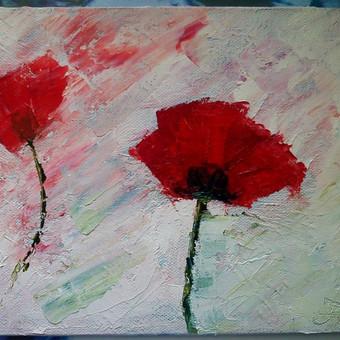 Aliejinė tapyba, drobė 4 Eur