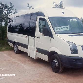 Keleivių vežimas Klaipėda - Passengers Transport on the Way / Arūnas Rupšlaukis / Darbų pavyzdys ID 393809