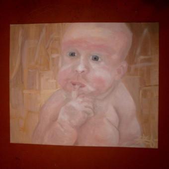 """,,Valdovas"""" 50x60 aliejinė tapyba"""
