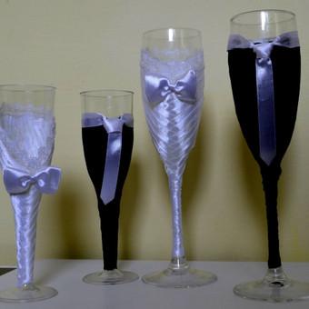 Jaunųjų taurės (stiklinės, plastikinės)
