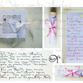 Vestuvių, krikštynų atvirukai, stalo kortelės, kvietimai / Rasa Lazdauskaitė / Darbų pavyzdys ID 394459