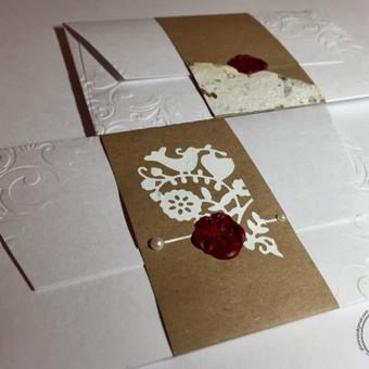 Vestuvių, krikštynų atvirukai, stalo kortelės, kvietimai / Rasa Lazdauskaitė / Darbų pavyzdys ID 394471