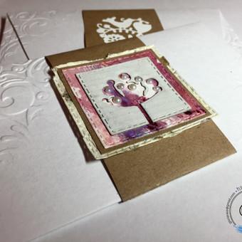 Vestuvių, krikštynų atvirukai, stalo kortelės, kvietimai / Rasa Lazdauskaitė / Darbų pavyzdys ID 394481