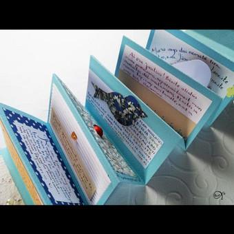 Vestuvių, krikštynų atvirukai, stalo kortelės, kvietimai / Rasa Lazdauskaitė / Darbų pavyzdys ID 394483