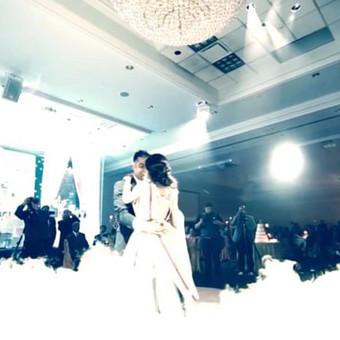 Žemas rūkas vestuvėms | Įspūdingas Jaunųjų pirmasis šokis / ZemasRukas.Lt / Darbų pavyzdys ID 394575