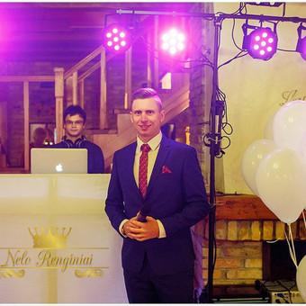 Nepamirštama vakaro vedėjo ir Dj komanda / Andrius Varnelo / Darbų pavyzdys ID 395821