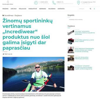 Komunikacijos specialistė, tekstų kūrėja / Sonata Dirsytė / Darbų pavyzdys ID 396269