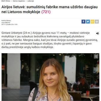 DELFI | Straipsnių ir interviu rašymas.