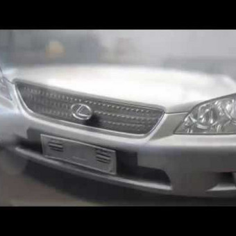 Lexus stogo duobučių lyginimas po krušos