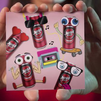 """""""Just cola"""" postas feisbukui"""