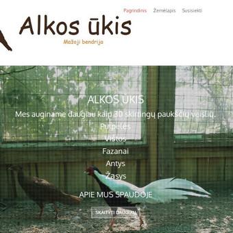 Paukštininkystės ūkio svetainė