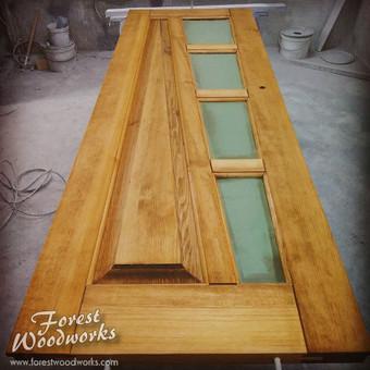 Medžio masyvo durys, langai, laiptų pakopos, palangės, deko / Arūnas / Darbų pavyzdys ID 401405