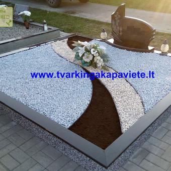Paminklai, antkapiai, granito plokštės, kapų tvarkymas / TVARKINGA KAPAVIETĖ / Darbų pavyzdys ID 401869