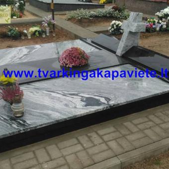 Paminklai, antkapiai, granito plokštės, kapų tvarkymas / TVARKINGA KAPAVIETĖ / Darbų pavyzdys ID 401883