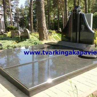 Paminklai, antkapiai, granito plokštės, kapų tvarkymas / TVARKINGA KAPAVIETĖ / Darbų pavyzdys ID 401887
