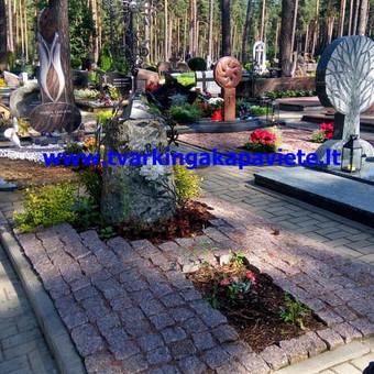 Paminklai, antkapiai, granito plokštės, kapų tvarkymas / TVARKINGA KAPAVIETĖ / Darbų pavyzdys ID 401911