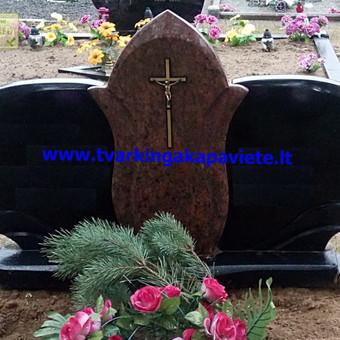 Paminklai, antkapiai, granito plokštės, kapų tvarkymas / TVARKINGA KAPAVIETĖ / Darbų pavyzdys ID 401913