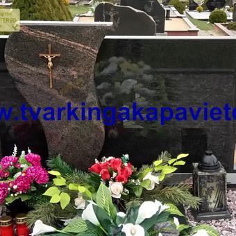 Paminklai, antkapiai, granito plokštės, kapų tvarkymas / TVARKINGA KAPAVIETĖ / Darbų pavyzdys ID 401917