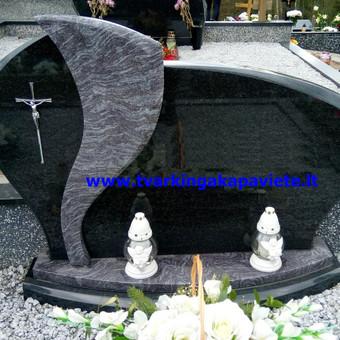 Paminklai, antkapiai, granito plokštės, kapų tvarkymas / TVARKINGA KAPAVIETĖ / Darbų pavyzdys ID 401929