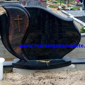 Paminklai, antkapiai, granito plokštės, kapų tvarkymas / TVARKINGA KAPAVIETĖ / Darbų pavyzdys ID 401931